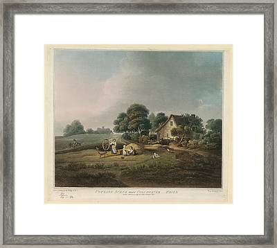 Cottage Scene Framed Print by British Library