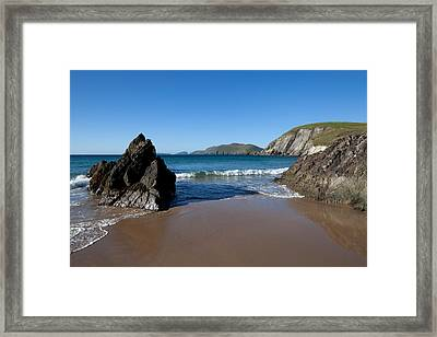 Coumeenoole Beach Slea Head Dingle Framed Print by Panoramic Images
