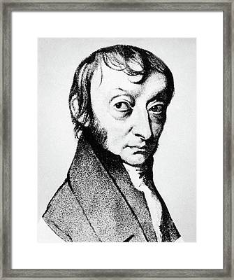 Count Amedeo Avogadro (1776-1856) Framed Print
