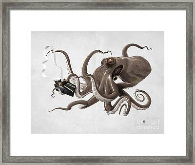 Count To Ten Wordless Framed Print by Rob Snow