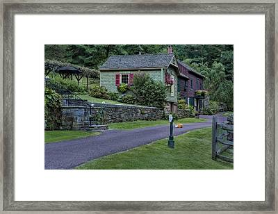 Country Charm Framed Print by Susan Candelario