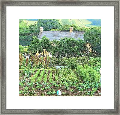 Country Cottage Framed Print by Jan Matson