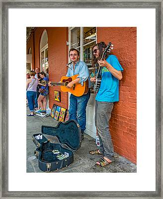Country In The French Quarter Framed Print by Steve Harrington