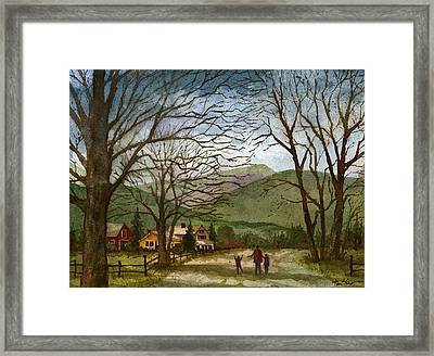 Country Lane  Framed Print by Tim Oliver