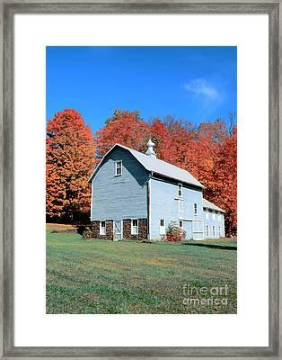 Country Scene Framed Print by Kathleen Struckle