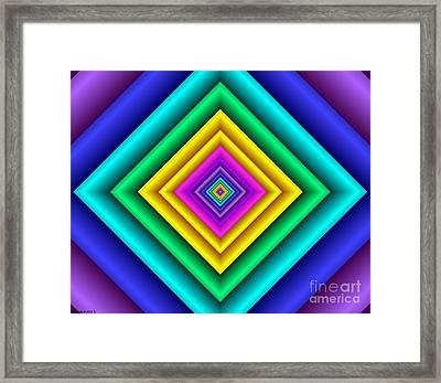 Covariance  9 Framed Print