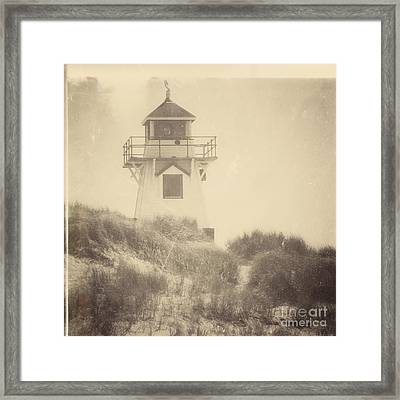 Covehead Light Framed Print by Meg Lee Photography
