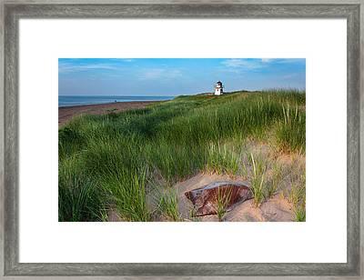 Covehead Lighthouse Framed Print by Matt Dobson