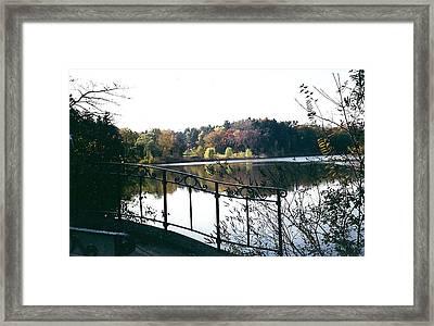 Cranbrook Framed Print by Cynthia Hilliard