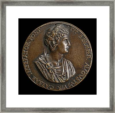 Cristoforo Di Geremia Italian, Active 1456 - 1476 Framed Print by Quint Lox