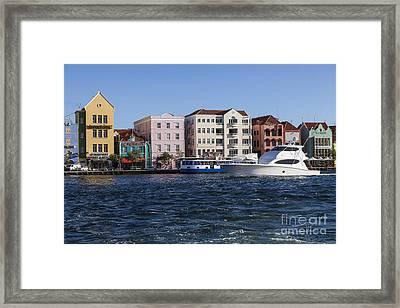 Curacao Framed Print by Juan  Silva