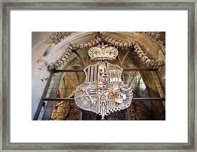 Czech Republic, Bohemia, Sedlec Framed Print