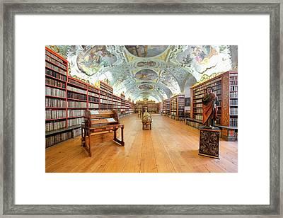 Czech Republic Prague, Strahov Framed Print