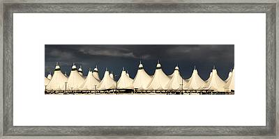 D I A Panorama At Dusk Framed Print by Joe Bonita