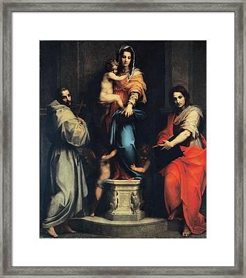 Dagnolo Andrea Known As Andrea Del Framed Print by Everett