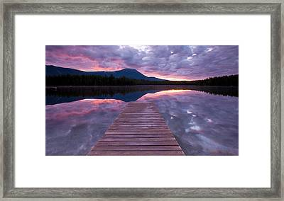 Daicey Pond Sunrise Framed Print by Patrick Downey