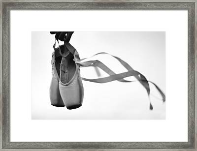 Dance With The Wind Framed Print