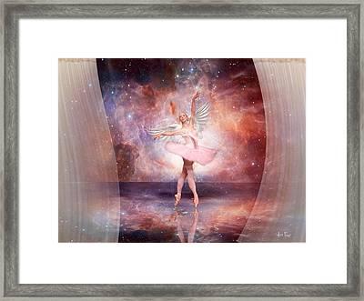 Dancing In The Spirit Framed Print