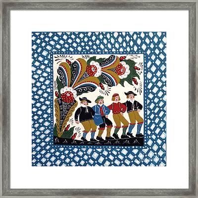 Dancing Men  Framed Print by Leif Sodergren