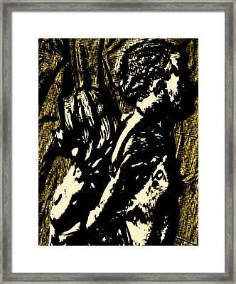 Dark Hearts Framed Print