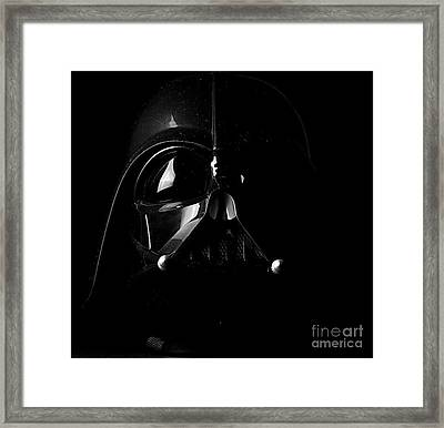 Darth Vader Framed Print by Baltzgar