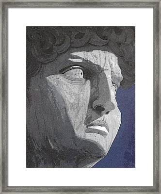 David Framed Print by Karyn Robinson