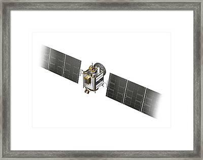 Dawn Spacecraft Framed Print by Carlos Clarivan