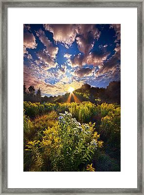 Daybreak Framed Print by Phil Koch