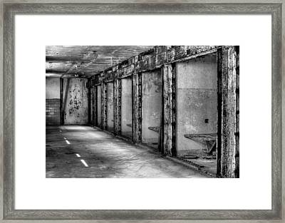 Death Row Framed Print