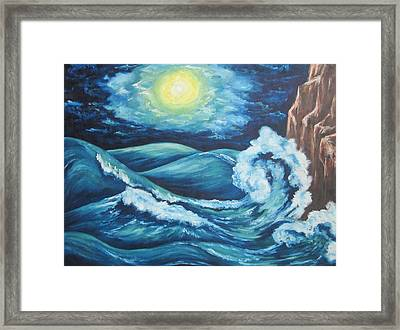 Deep Water Framed Print