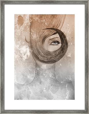 Deep Framed Print by Yosi Cupano