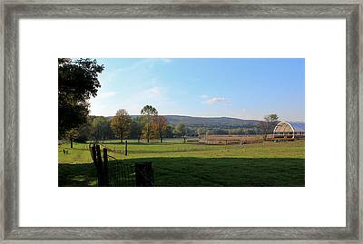 Deerfield Countryside Framed Print by DustyFootPhotography
