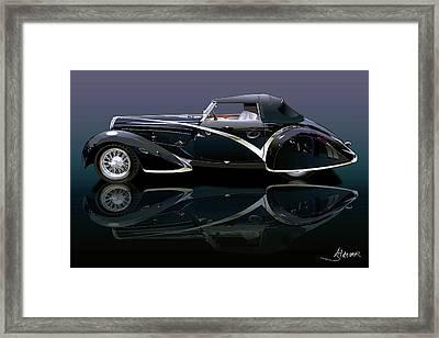 Delahaye Framed Print by Alain Jamar