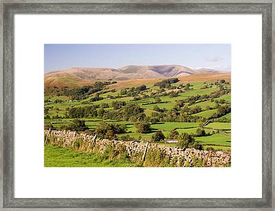 Dentdale In The Yorkshire Dales Framed Print by Ashley Cooper