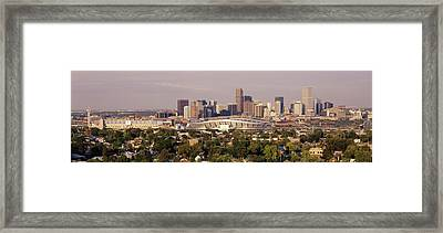 Denver Co Framed Print by Panoramic Images