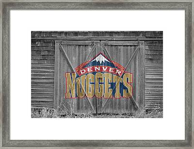 Denver Nuggets Framed Print