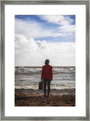 Departure Framed Print by Joana Kruse