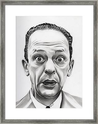 Deputy Barney Fife Framed Print by Fred Larucci