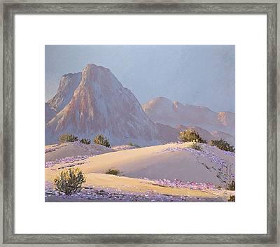 Desert Prelude Framed Print
