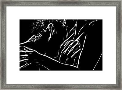 Desire Framed Print by Steve K
