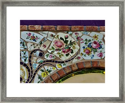 Detail Mosaics Framed Print by Charles Lucas