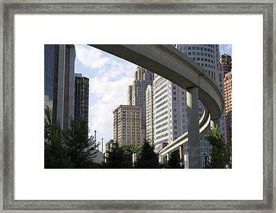 Detroit City Framed Print by Gary Marx