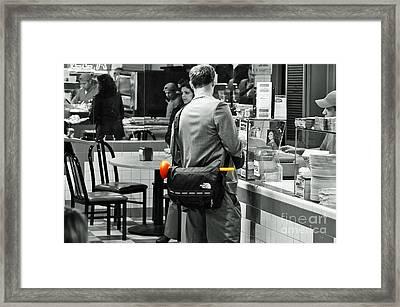 Digitally Enhanced Art Framed Print by Davids Digits