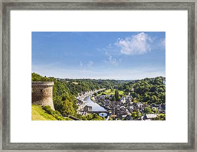 Dinan Brittany France Framed Print by Colin and Linda McKie