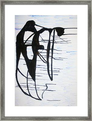 Dinka Motherhood - South Sudan Framed Print by Gloria Ssali