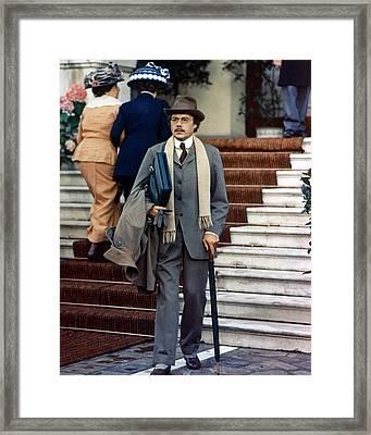 Dirk Bogarde In Morte A Venezia  Framed Print by Silver Screen