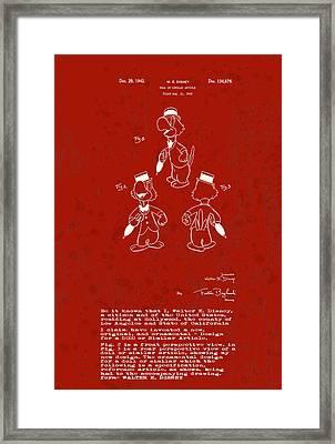 Disney Jose Carioca Framed Print