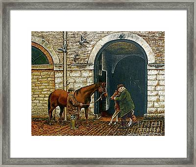 Divine Beginnings Framed Print by Linda Simon