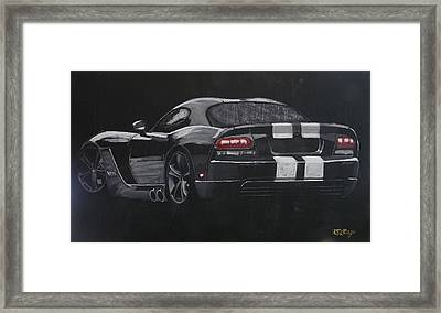 Dodge Viper 1 Framed Print