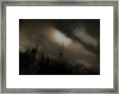 dog Heaven Framed Print by David Fox